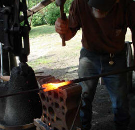 Forging a Flintlock Rifle Barrel with Jon Laubauch