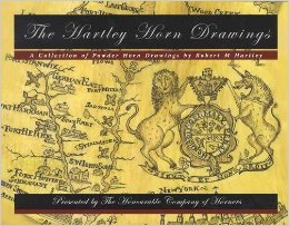 The Hartley Horn Drawings: A Collection of Powder Horn Drawings