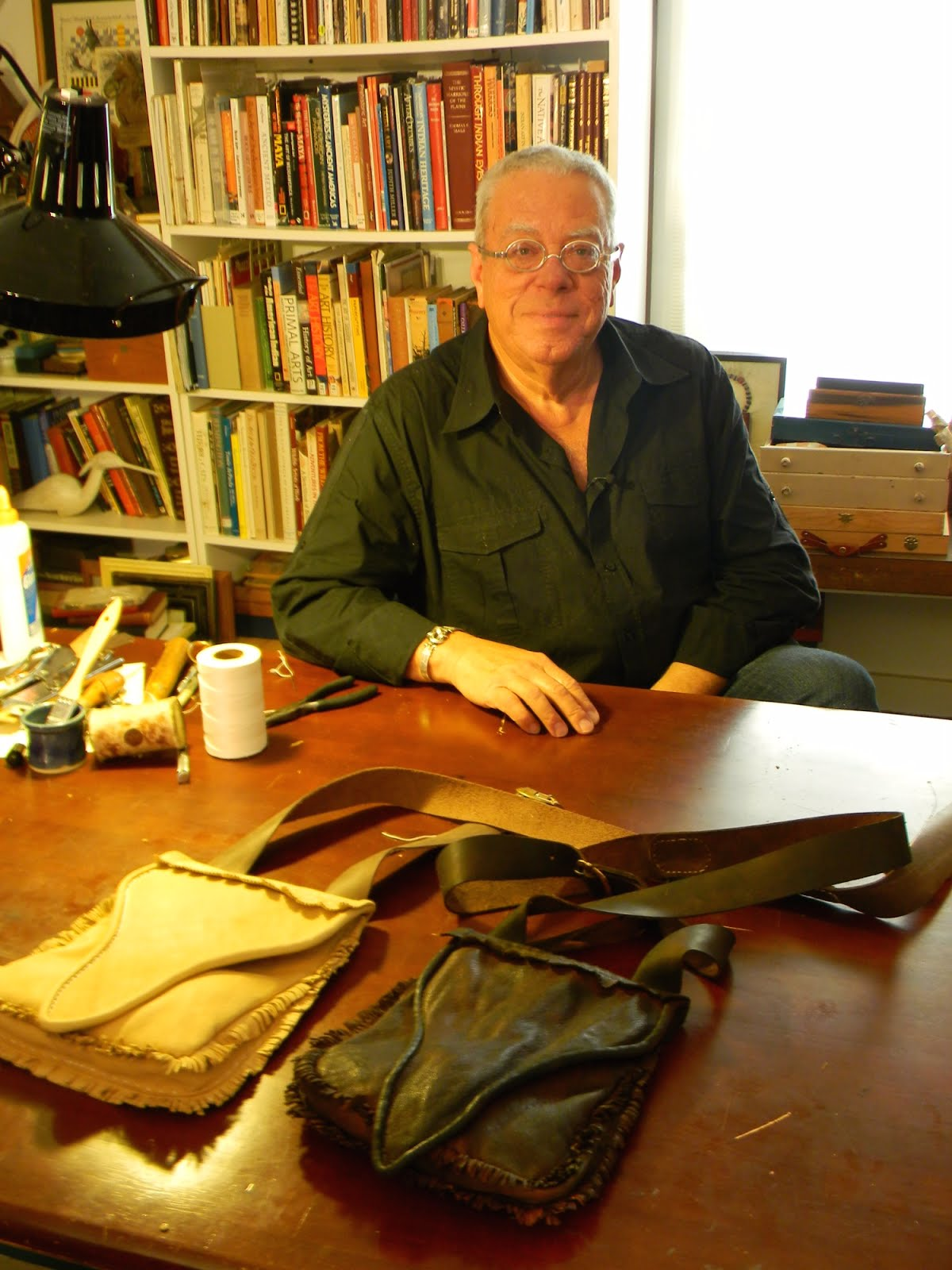 Recreating the Kentucky Rifle Hunting Pouch