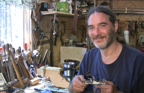 Hand-Forging a Flint Lock with Mike Miller