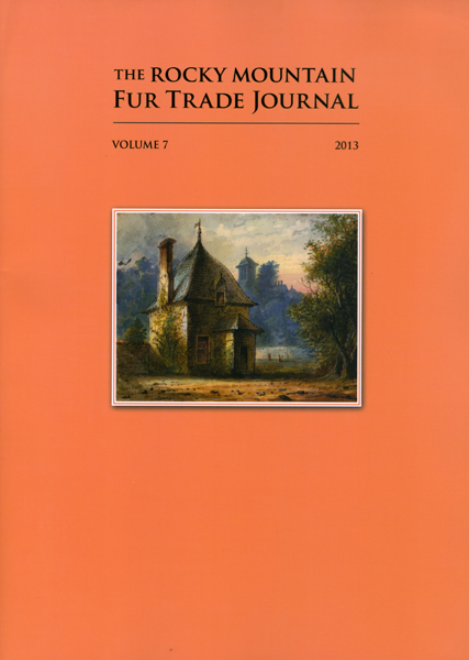 2013 Rocky Mountain Fur Trade Journal