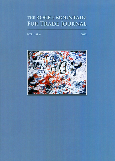 2012 Rocky Mountain Fur Trade Journal