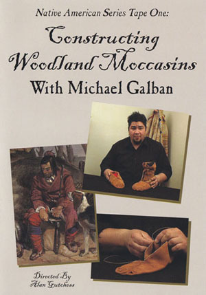 Constructing Woodland Moccasins with Michael Galbon